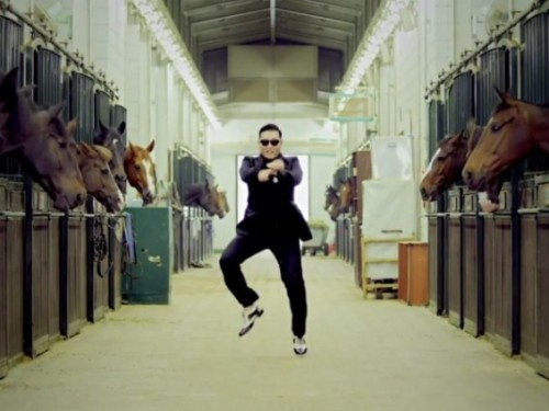 """PSY's """"horse dance"""" changes how we talk about serious horse training...for real."""
