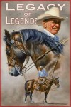 The 2013 Legacy of Legends poster by artist and horseman Steve Johnson.
