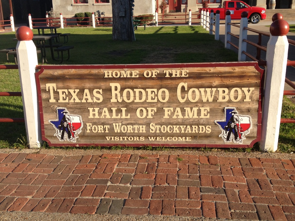 We started the day in the Stockyards, then headed for Stephenville.