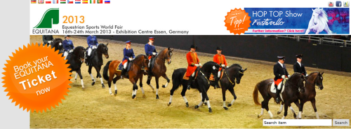 The 2013 Equitana in Essen, Germany, features many TSB authors.