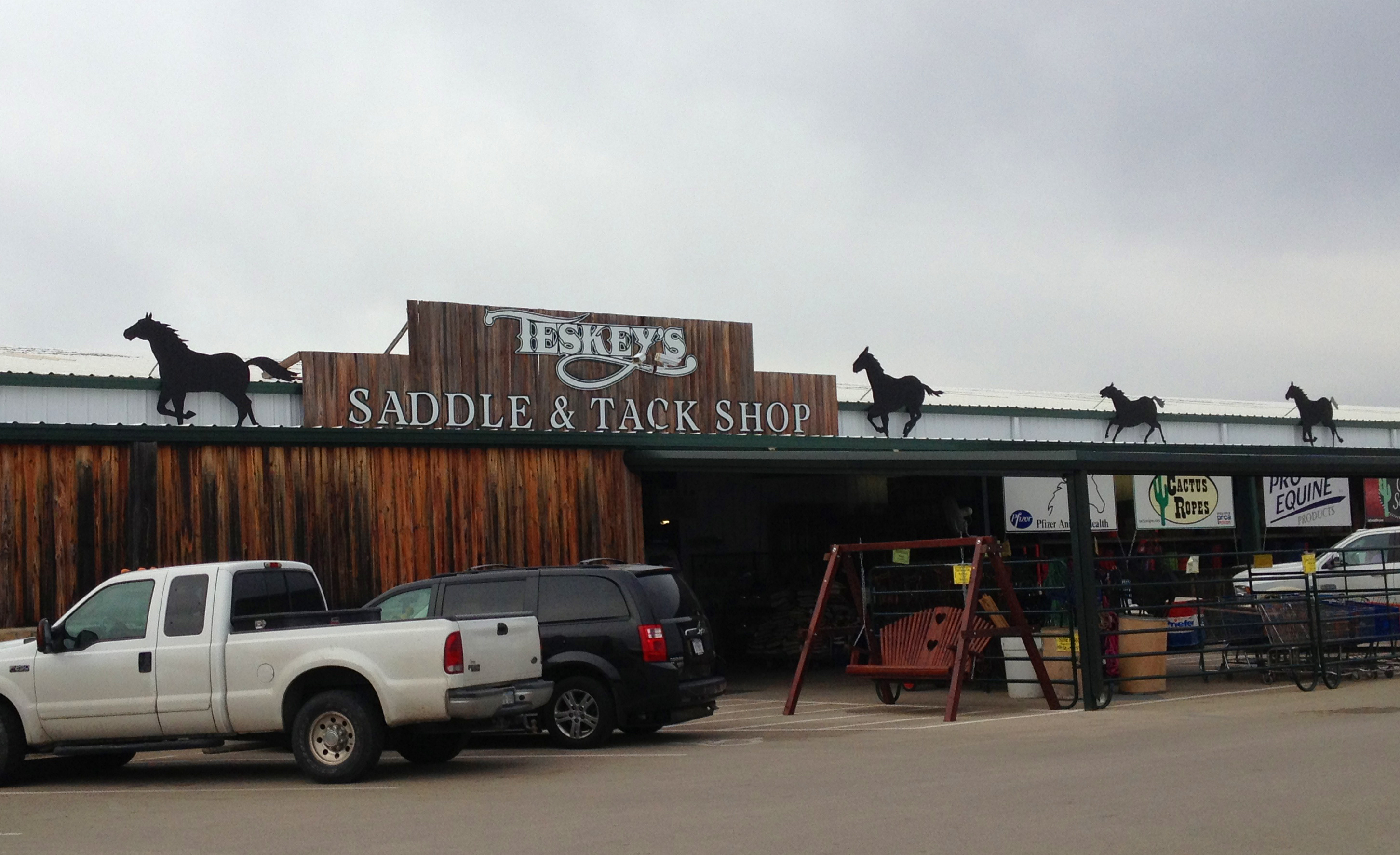 781be7a26c71 Teskey's Saddle Shop is internationally known for its incredible selection  of Western saddles and equipment.