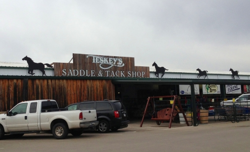 Teskey's Saddle Shop is internationally known for its incredible selection of Western saddles and equipment.