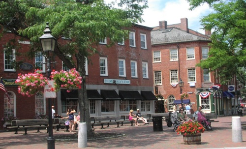 Downtown Newburyport--mark your calendars to visit during the NLF!