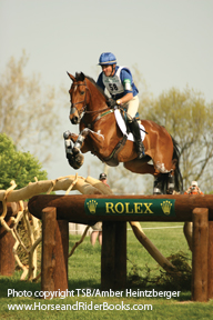Phillip Dutton on Connaught, on their way to winning Rolex Kentucky in 2008.