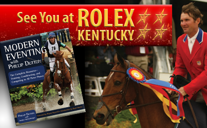 A limited number of pre-release copies of Phillip Dutton's new book will be available at Rolex Kentucky!