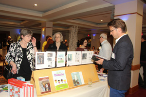 CROWN PRINCE by Linda Snow McLoon was displayed with the other winning entries at the New England Book Show in early May.