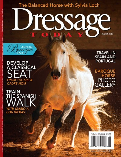 Pick up a copy of the August issue of Dressage Today for a great excerpt from TSB author Sylvia Loch's new book!