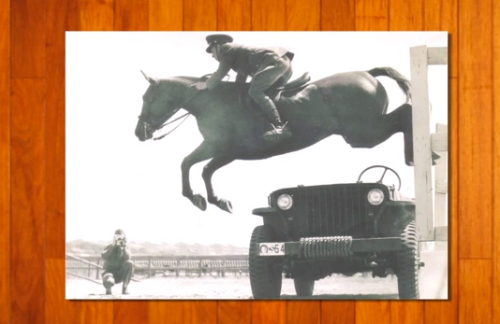 This puts most schooling obstacles to shame! Learn how the cavalry was involved in the evolution of the forward riding system in Bernie Traurig's new DVD series.