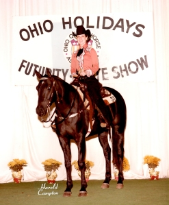 TSB author Susan Tinder on her Quarter Horse mare, Lady Biddersweet, back in the day!