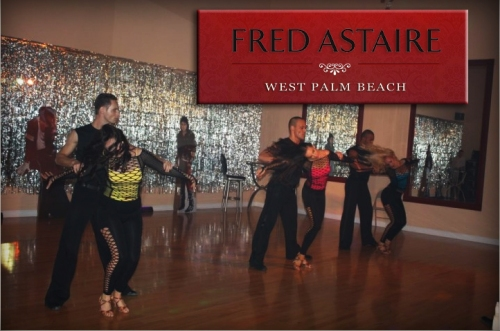 TSB author Jane Savoie takes lessons at the Fred Astaire Dance Studio in West Palm Beach, Florida.