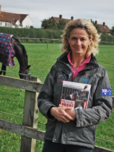 Lucinda Fredericks, the cover star from Daniel's new book PRESSURE PROOF YOUR RIDING.