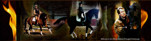 Douglas Puterbaugh, the author of THE SEVEN DEADLY SINS OF DRESSAGE has a new website--click the image above to check it out.