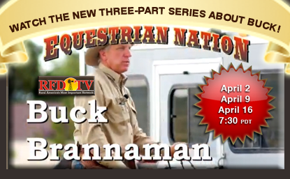 Watch Buck Brannaman on RFD-TV for the first time ever!