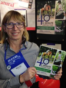TSB author Wendy Murdoch at the 2014 USPC Annual Meeting and Equine Educational Symposium, where she was a presenter.