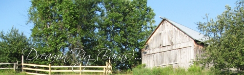 We're turning the corner and putting winter behind us...time to start thinking about bringing those barn dreams to life.
