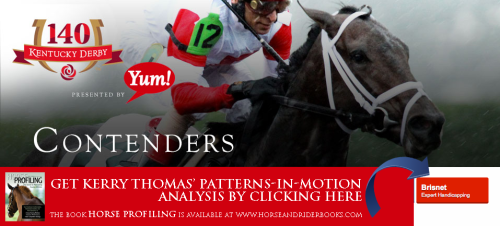 Click the image above to visit Brisnet.com and find Kerry Thomas' 2014 Derby Profiles.