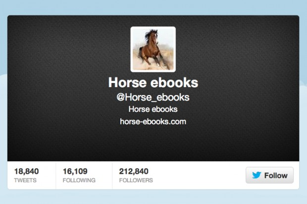 Real horse books are taking back what's theirs!