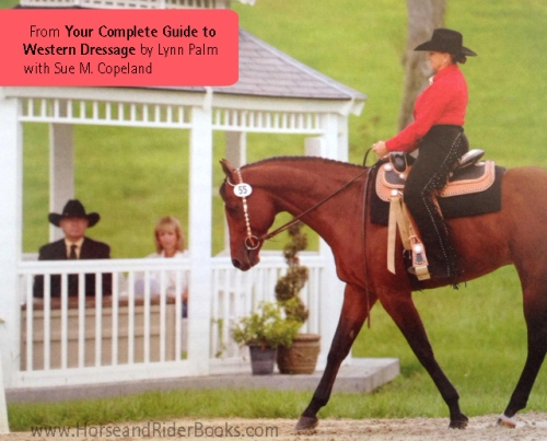 Lynn Palm has written two important books for Western dressage riders: THE RIDER'S GUIDE TO REAL COLLECTION and YOUR COMPLETE GUIDE TO WESTERN DRESSAGE. .