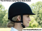 Softening your jaw can improve your rein contact, and your horse's forwardness and suppleness.