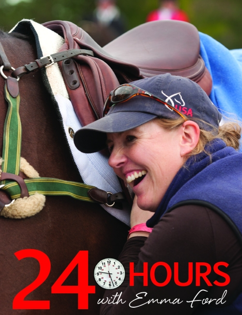 Photo of Emma Ford by Amber Heintzberger from Modern Eventing with Phillip Dutton.