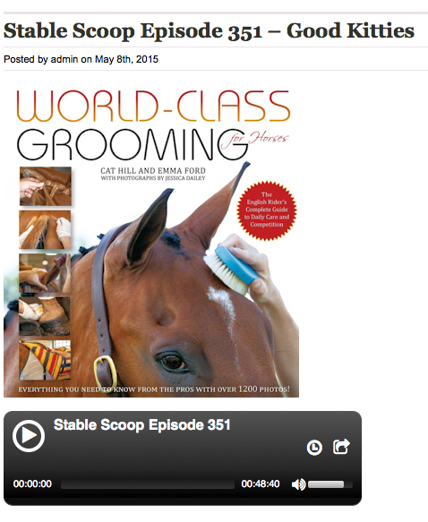 Click the image to listen to Cat Hill and Emma Ford on the Horse Radio Network!