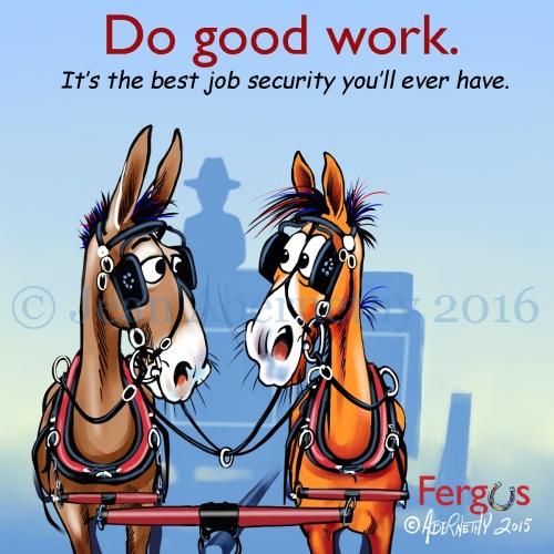 Do good work wm