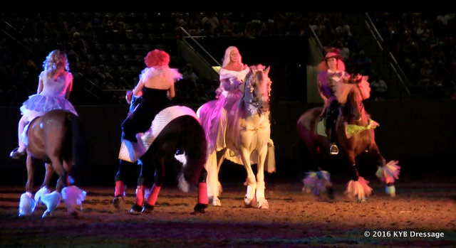 Yvonne and her students put on fabulous equine theater productions at major events across the country throughout the year.