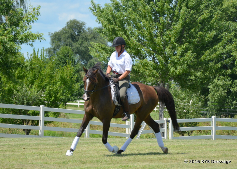 Yvonne made a name for herself as a horsewoman who can determine a horse's personality type and customize his training to suit.