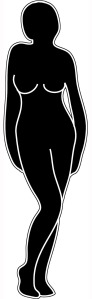body-silhouette-standing-woman-1
