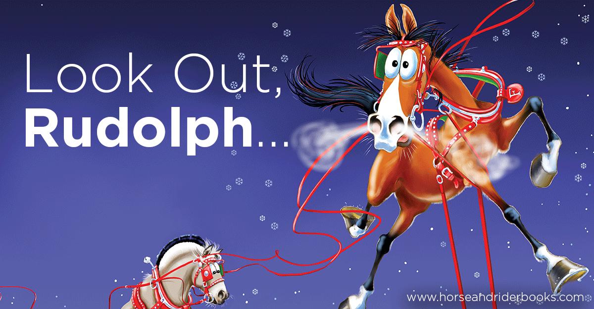 that time fergus the horse saved christmas trafalgar square books blog - Christmas Horse