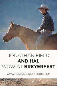 JonathanFieldHalBreyerfestPIN-horseandriderbooks