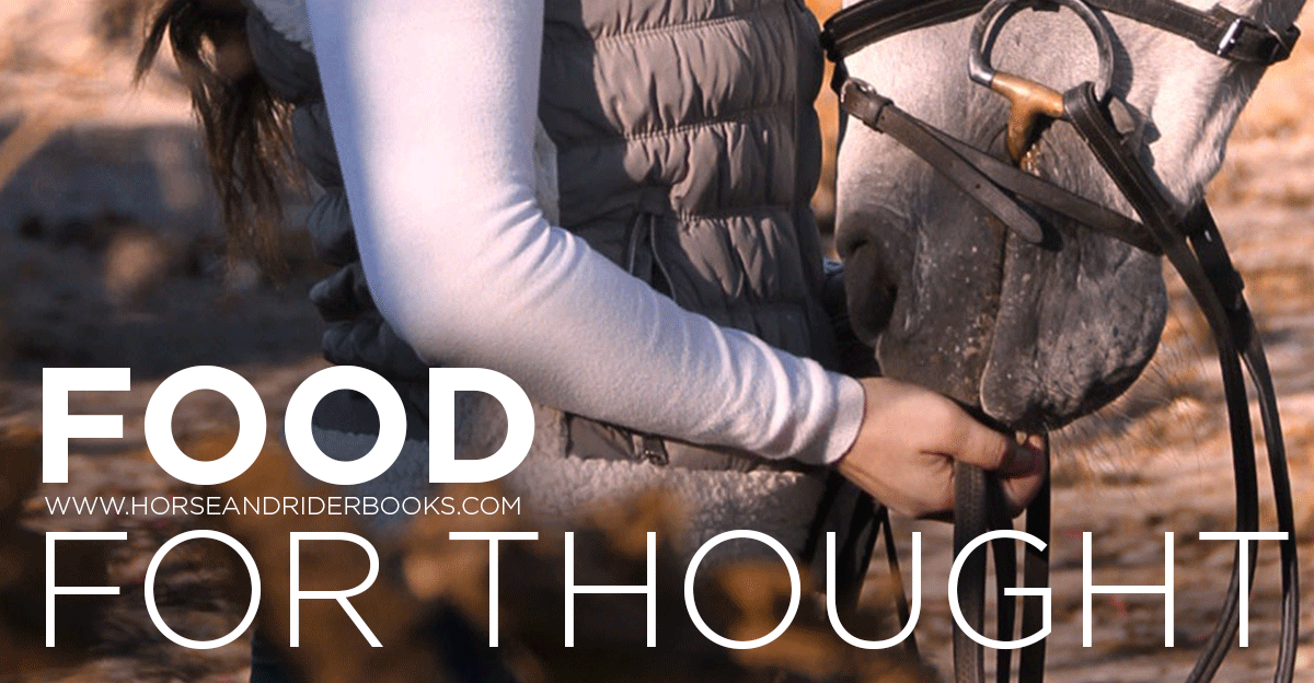 FoodforThought-horseandriderbooks