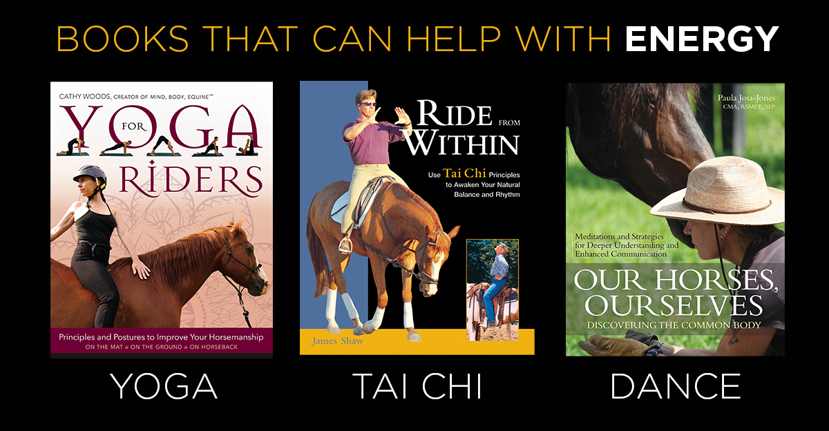 BookstoHelpwithEnergy-horseandriderbooks