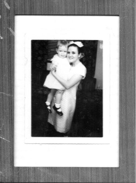 Susan with Auntie Sue. Photos courtesy of Susan Conley.